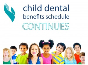 Child dental benefit schedule continues